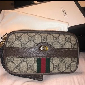 100% Authentic Gucci Wallet/Wristlet